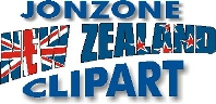 Jonzone New Zealand Clipart